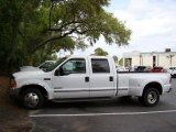 Oxford White Ford F350 Super Duty in 1999