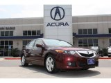2010 Basque Red Pearl Acura TSX Sedan #79813823