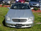 2001 Brilliant Silver Metallic Mercedes-Benz SLK 320 Roadster #792494