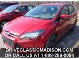 2012 Red Candy Metallic Ford Focus Titanium 5-Door #79814346