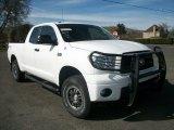 2010 Super White Toyota Tundra TRD Rock Warrior Double Cab 4x4 #79872655