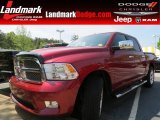 2012 Deep Cherry Red Crystal Pearl Dodge Ram 1500 Laramie Limited Crew Cab #79872234