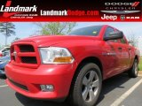 2012 Flame Red Dodge Ram 1500 Express Crew Cab #79872233