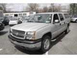 2005 Silver Birch Metallic Chevrolet Silverado 1500 LS Crew Cab 4x4 #7981728