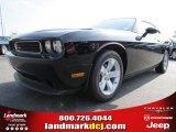 2013 Pitch Black Dodge Challenger SXT #79872227