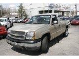 2005 Sandstone Metallic Chevrolet Silverado 1500 Regular Cab 4x4 #7981715