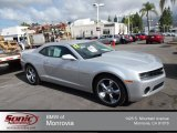 2012 Silver Ice Metallic Chevrolet Camaro LS Coupe #79872359