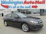 2012 Dark Gray Metallic Subaru Impreza 2.0i Premium 5 Door #79872200