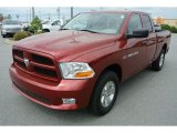 2012 Deep Molten Red Pearl Dodge Ram 1500 ST Quad Cab #79872626