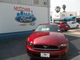 2014 Ruby Red Ford Mustang V6 Coupe #79872074