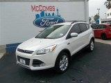 2013 White Platinum Metallic Tri-Coat Ford Escape SE 2.0L EcoBoost #79872073