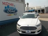 2013 White Platinum Metallic Tri-coat Ford Fusion SE #79872072