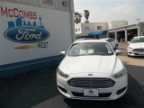 2013 Oxford White Ford Fusion S #79872069