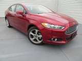 Ruby Red Metallic Ford Fusion in 2013