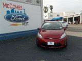 2013 Ruby Red Ford Fiesta SE Hatchback #79872066
