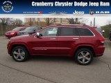 2014 Deep Cherry Red Crystal Pearl Jeep Grand Cherokee Overland 4x4 #79872173