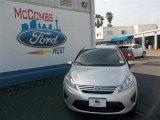 2013 Ingot Silver Ford Fiesta SE Sedan #79872065