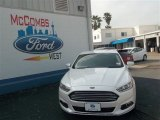 2013 White Platinum Metallic Tri-coat Ford Fusion SE 1.6 EcoBoost #79872063