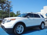 2013 Oxford White Ford Explorer XLT #79872164