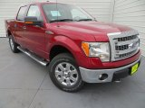 2013 Ruby Red Metallic Ford F150 XLT SuperCrew 4x4 #79872316