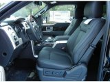 2013 Ford F150 Platinum SuperCrew 4x4 Front Seat