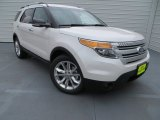 2013 White Platinum Tri-Coat Ford Explorer XLT #79872311