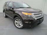 Kodiak Brown Metallic Ford Explorer in 2013