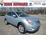 2013 Frosted Steel Nissan Rogue SV AWD #79872582