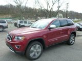 2014 Deep Cherry Red Crystal Pearl Jeep Grand Cherokee Limited 4x4 #79872439