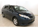 2011 South Pacific Blue Pearl Toyota Sienna LE #79872554