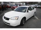 2007 White Chevrolet Malibu LT Sedan #7981698