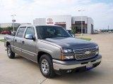 2008 Graystone Metallic Chevrolet Silverado 1500 LS Crew Cab #7970307