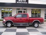 2012 Deep Cherry Red Crystal Pearl Dodge Ram 1500 Outdoorsman Quad Cab #79928471