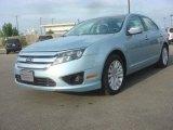2010 Light Ice Blue Metallic Ford Fusion Hybrid #79928587