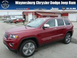 2014 Deep Cherry Red Crystal Pearl Jeep Grand Cherokee Limited 4x4 #79928430