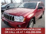 2006 Inferno Red Crystal Pearl Jeep Grand Cherokee Limited 4x4 #79928502