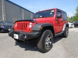 2012 Flame Red Jeep Wrangler Sport 4x4 #79928364