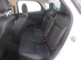 2012 Ford Focus Titanium Sedan Rear Seat