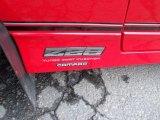 Chevrolet Camaro 1987 Badges and Logos