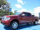 2013 Ruby Red Metallic Ford F150 Platinum SuperCrew 4x4 #79949619