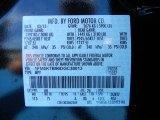 2013 Explorer Color Code for Tuxedo Black Metallic - Color Code: UH
