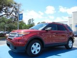 2013 Ruby Red Metallic Ford Explorer FWD #79949616