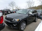2014 Black Forest Green Pearl Jeep Grand Cherokee Limited 4x4 #79950029