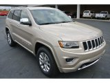 2014 Cashmere Pearl Jeep Grand Cherokee Overland 4x4 #79950237