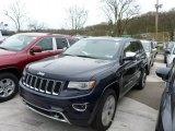 2014 True Blue Pearl Jeep Grand Cherokee Overland 4x4 #79950025