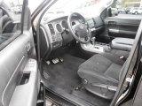 2010 Toyota Tundra Double Cab 4x4 Black Interior