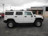 2003 White Hummer H2 SUV #79950432