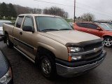 2004 Sandstone Metallic Chevrolet Silverado 1500 LS Extended Cab 4x4 #79949799