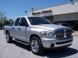 2008 Bright Silver Metallic Dodge Ram 1500 Big Horn Edition Quad Cab #7970308