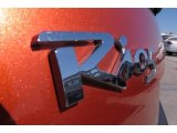 Kia Rio 2009 Badges and Logos